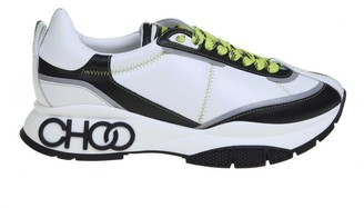 Jimmy Choo Raine Sneakers In White Leather