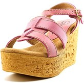 Sbicca Seacliff Women Open Toe Leather Wedge Sandal.