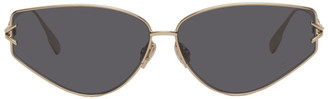 Christian Dior Gold and Grey DiorGipsy2 Sunglasses