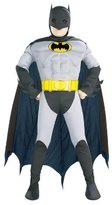 Rubie's Costume Co DC Comics Deluxe Batman Muscle Chest Toddler Costume