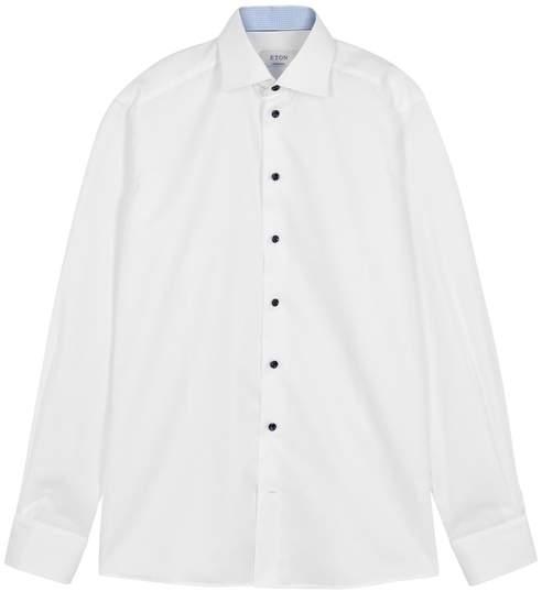 Eton White Contemporary Cotton Shirt