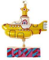 Christopher Radko Yellow Submarine Figurine