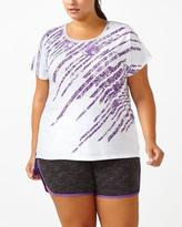 Penningtons Athleisure - Plus-Size Printed T-Shirt