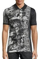 Versace All Over Baroque Polo
