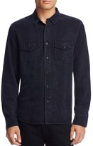 Joe's Jeans Faded Black Regular Fit Button Down Shirt