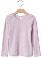 Gap Crochet-trim ribbed tee