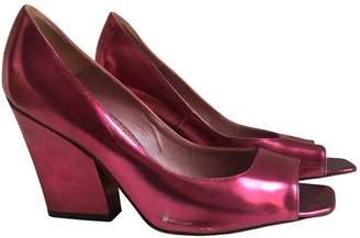 Jean-Michel Cazabat Jean Michel Cazabat \N Pink Leather Heels