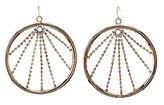 Charlotte Russe Embellished Hoop Earrings