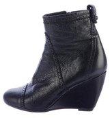Balenciaga Wedge Ankle Boots