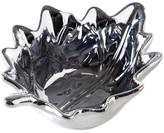 Torre & Tagus Silver Birch Leaf Ceramic Dish