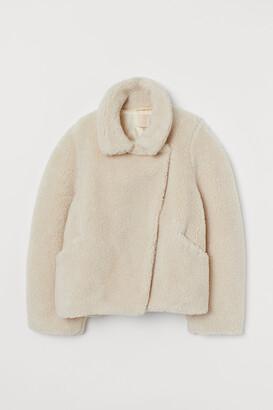 H&M Boxy Faux Fur Jacket