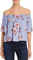 Astr Esme Off-the-Shoulder Floral Top
