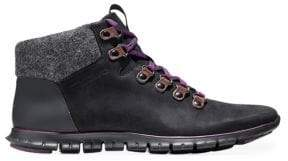 Cole Haan ZeroGrand Leather & Suede Hiker Boot