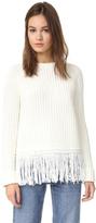 Moon River Fringe Sweater