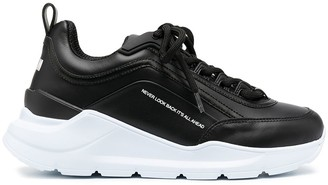 MSGM Platform Chunky Low-Top Sneakers