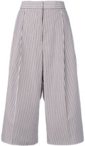 Ports 1961 striped cropped trousers - women - Cotton - 38