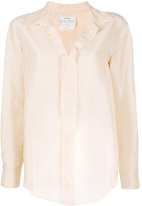 Forte Forte spread-collar shirt