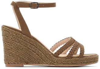 La Redoute Collections Wedge Heel Espadrille Sandals