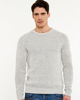Le Château Tape Yarn Crew Neck Sweater