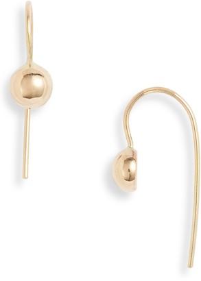 Poppy Finch 14K Gold Dome Earrings
