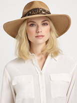 Eugenia Kim Cassidy Sequin Straw Sun Hat