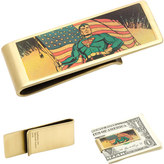 Cufflinks Inc. Men's Vintage Patriotic Superman Money Clip