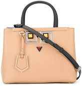 Fendi Square Eyes tote - women - Calf Leather - One Size