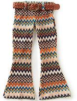 Takara Little Girls 4-6X Printed Flare-Leg Pants