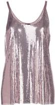 Paco Rabanne Gathered Chainmail Dress