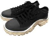 Raf Simons Adidas X Detroit Runner Black Cloth Trainers