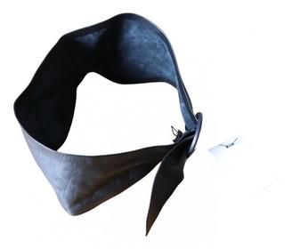 IRO Fall Winter 2019 Black Leather Belts