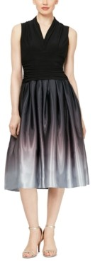 SL Fashions Ombre Party Dress