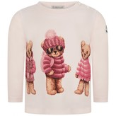 Moncler MonclerBaby Girls Pink Teddy Bears Top