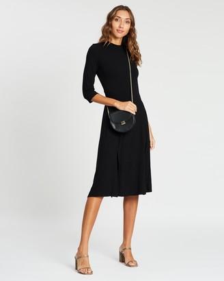 Dorothy Perkins Split Front Midi Dress