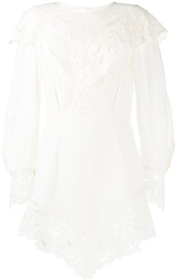 Isabel Marant Ellery embroidered dress