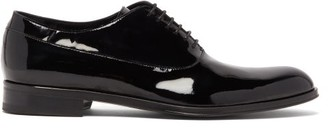 Paul Smith Noam Patent-leather Oxford Shoes - Mens - Black
