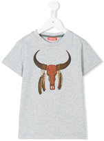 Sunuva - Buffalo print T-shirt - kids - Cotton - 2 yrs