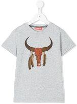 Sunuva - Buffalo print T-shirt - kids - Cotton - 4 yrs