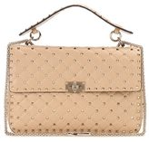 Valentino Garavani Rockstud Spike chain leather shoulder bag