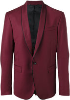 Diesel piped trim blazer - men - Nylon/Polyester/Spandex/Elastane/Virgin Wool - 46