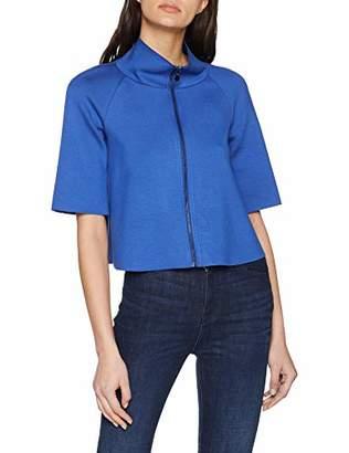 Taifun Women's 330049-17142 Suit Jacket, (True Blue 80021), 14 (Size: )