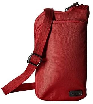 Pacsafe Daysafe Anti-Theft Tech Crossbody Bag (Baked Apple) Cross Body Handbags