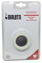 Bialetti 3 gaskets + 1 Plate 1 Cup