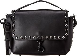 Rebecca Minkoff Blythe Medium Flap Leather Crossbody