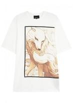 3.1 Phillip Lim Spirit Animal White Cotton T-shirt