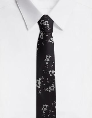 Dolce & Gabbana Floral Silk Jacquard Blade Tie (6 Cm)