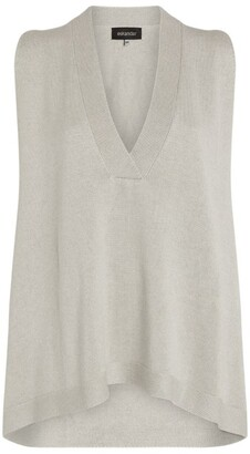 eskandar Silk Sleeveless Sweater