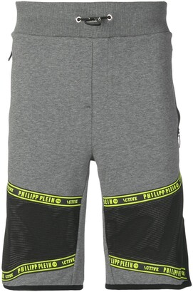 Philipp Plein Applique Detail Running Shorts