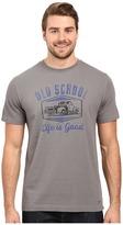 Life is Good Old School Truck Crusher Tee