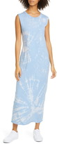 Raquel Allegra Tie Dye Muscle Maxi Dress